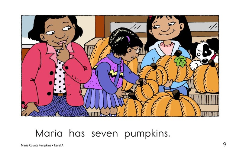 Book Preview For Maria Counts Pumpkins Page 9
