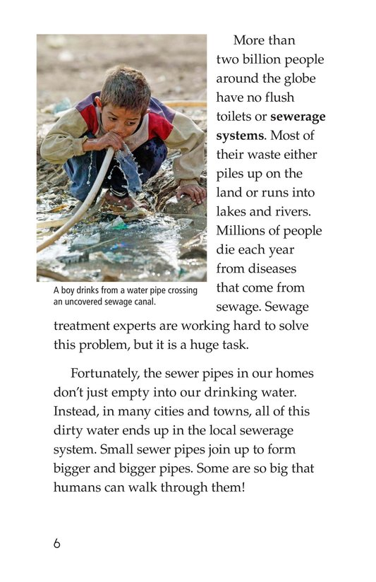 Book Preview For What Happens When You Flush? Page 6