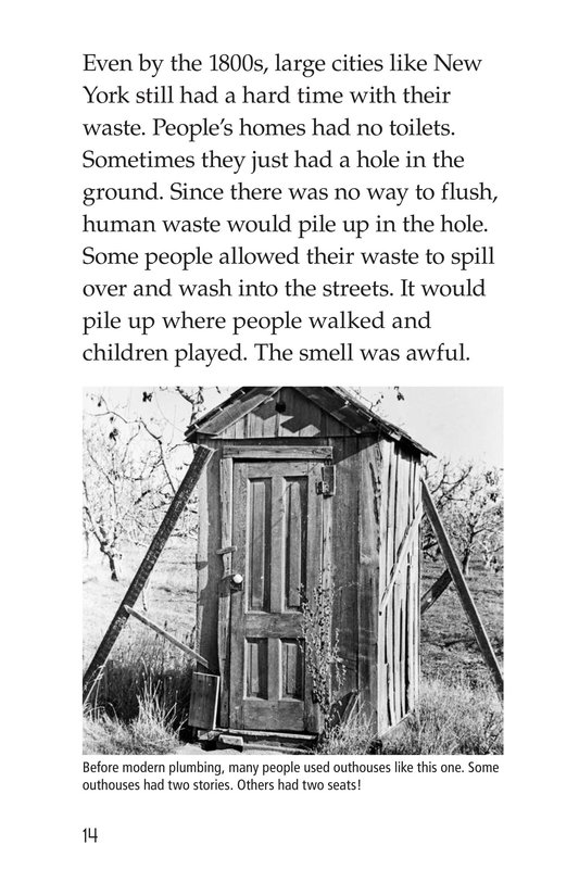 Book Preview For What Happens When You Flush? Page 14