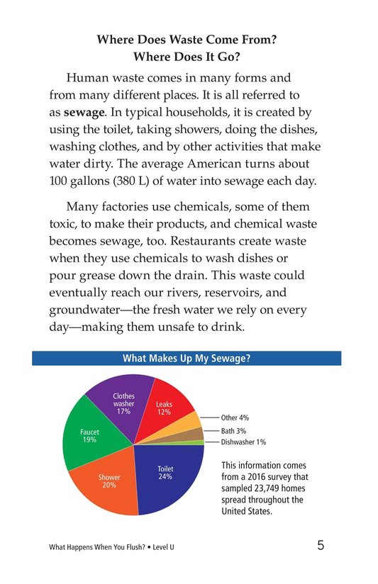 Book Preview For What Happens When You Flush? Page 5