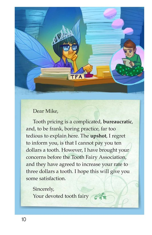 Book Preview For Book 5: No Fair, Tooth Fairy Page 10