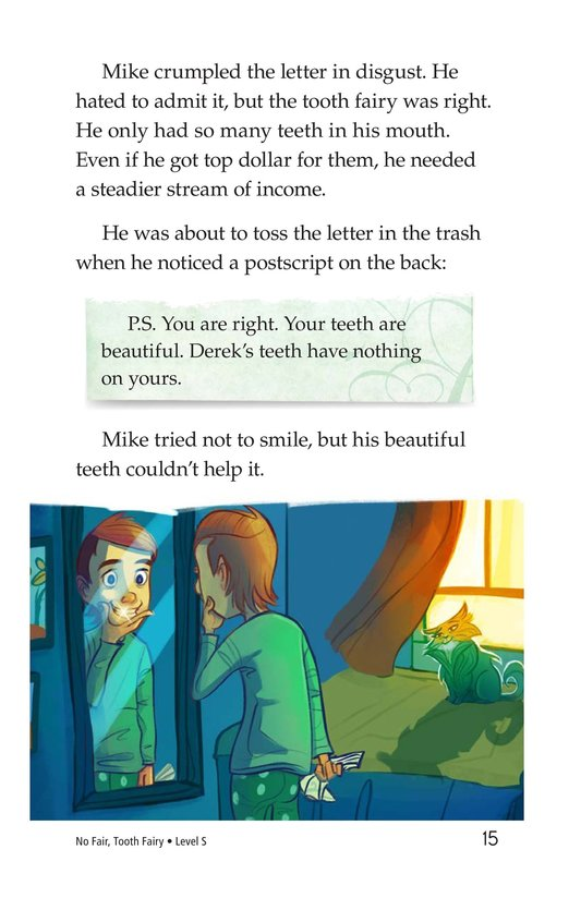 Book Preview For Book 5: No Fair, Tooth Fairy Page 15