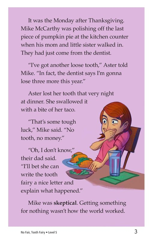 Book Preview For Book 5: No Fair, Tooth Fairy Page 3