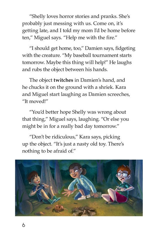 Book Preview For The Monkey's Paw Page 6