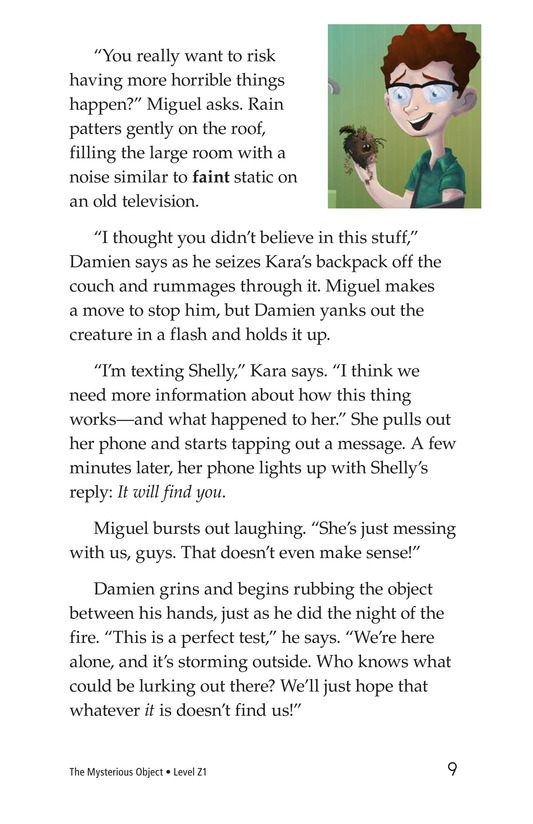 Book Preview For The Monkey's Paw Page 9