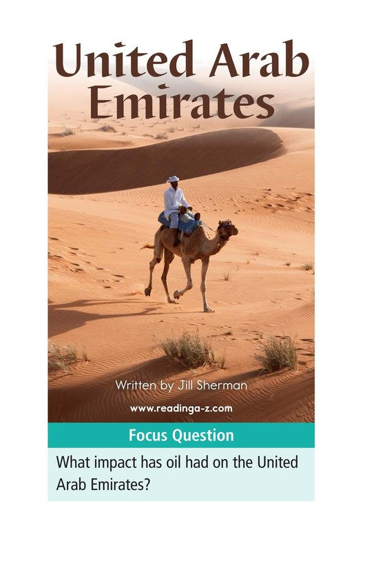Book Preview For United Arab Emirates Page 1
