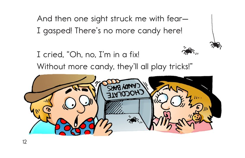 Book Preview For Trick or Treat! A Halloween Rhyme Page 12