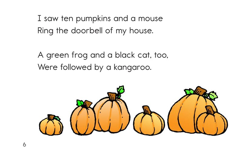 Book Preview For Trick or Treat! A Halloween Rhyme Page 6