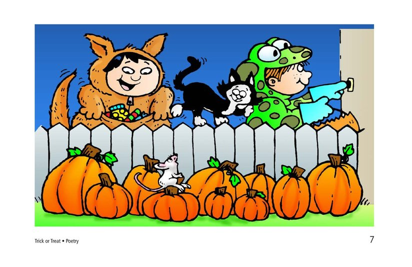 Book Preview For Trick or Treat! A Halloween Rhyme Page 7