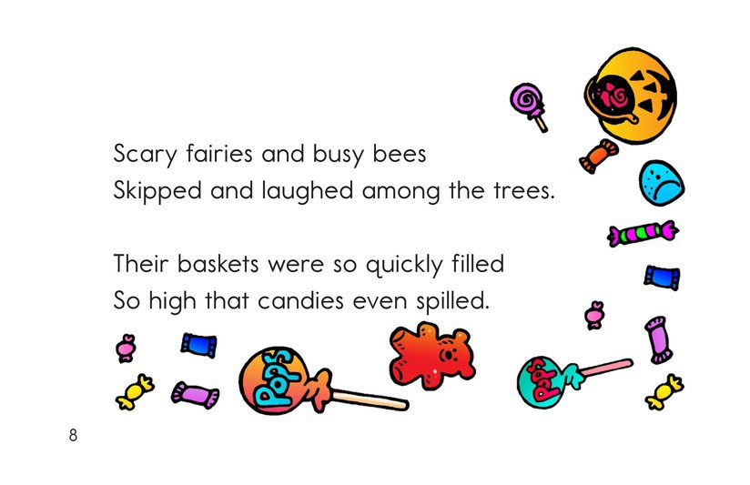 Book Preview For Trick or Treat! A Halloween Rhyme Page 8