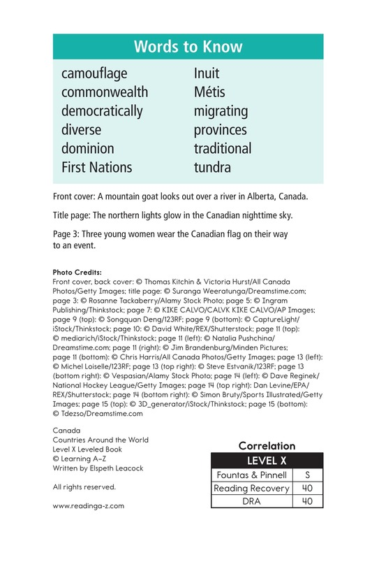 Book Preview For Canada Page 2