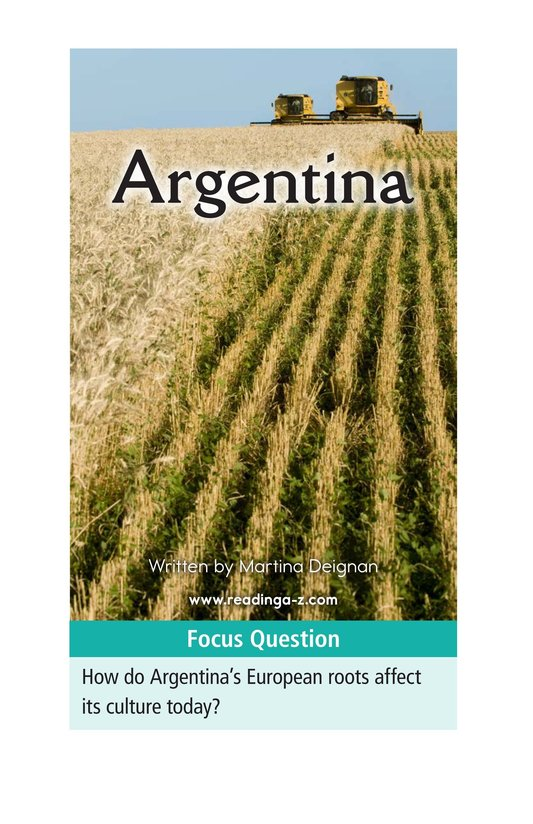 Book Preview For Argentina Page 1