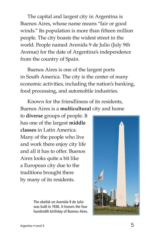 Book Preview For Argentina Page 5