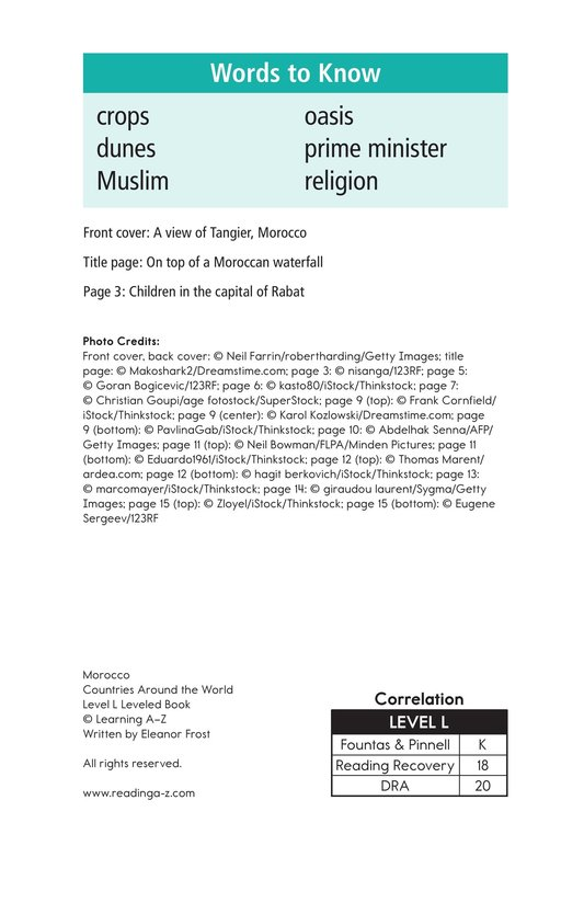 Book Preview For Morocco Page 2