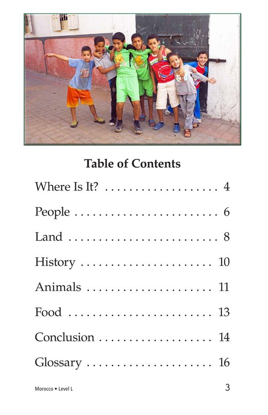 Book Preview For Morocco Page 3