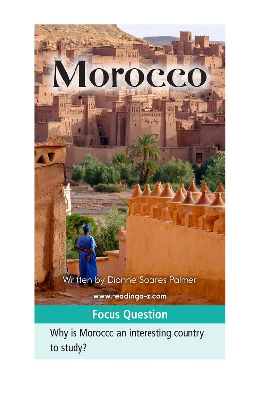 Book Preview For Morocco Page 1