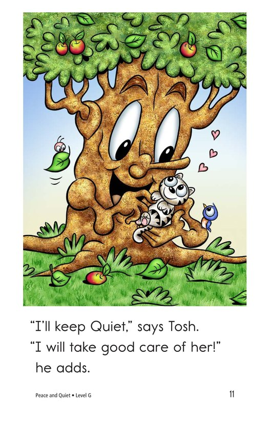 Book Preview For Peace and Quiet Page 11