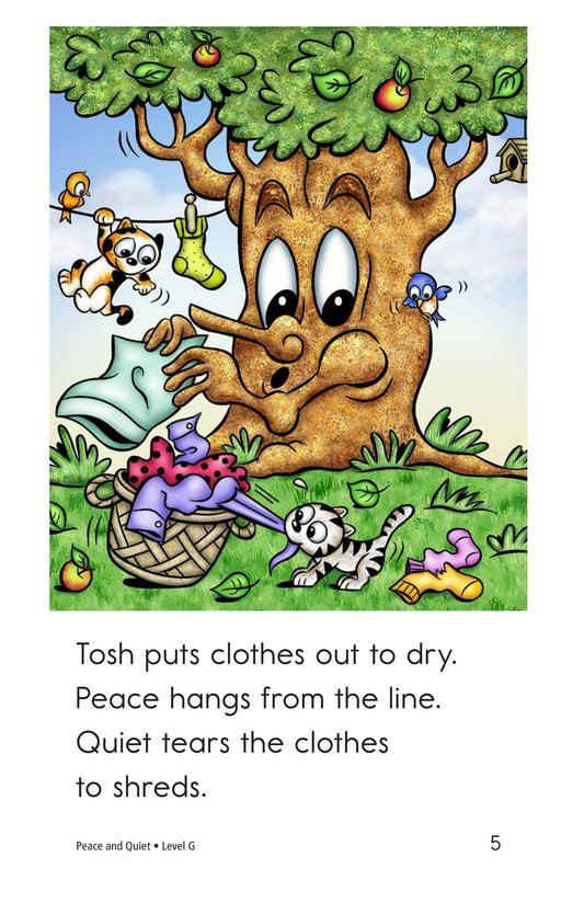 Book Preview For Peace and Quiet Page 5