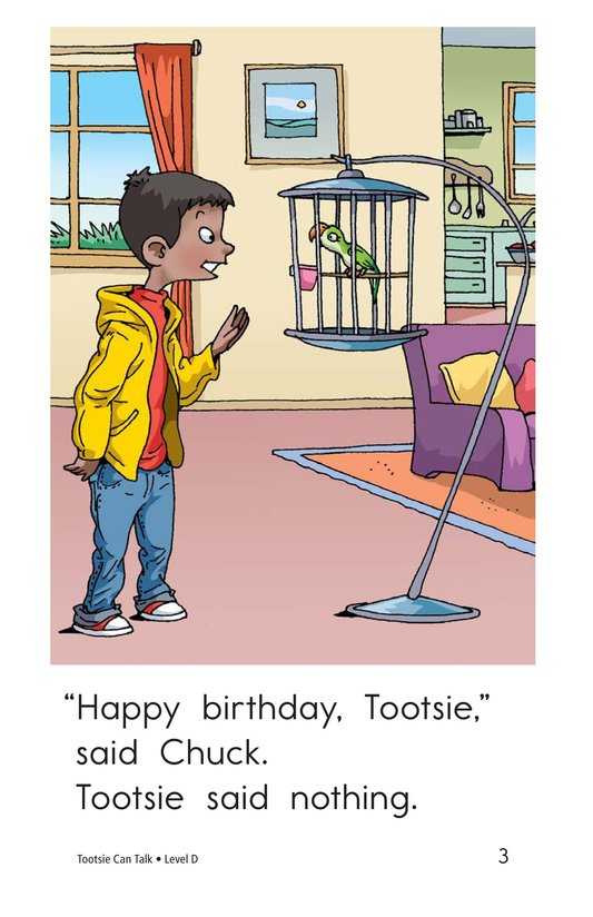 Book Preview For Tootsie Can Talk Page 3