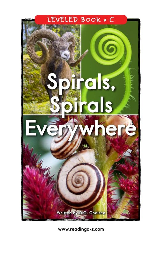 Book Preview For Spirals, Spirals Everywhere Page 0