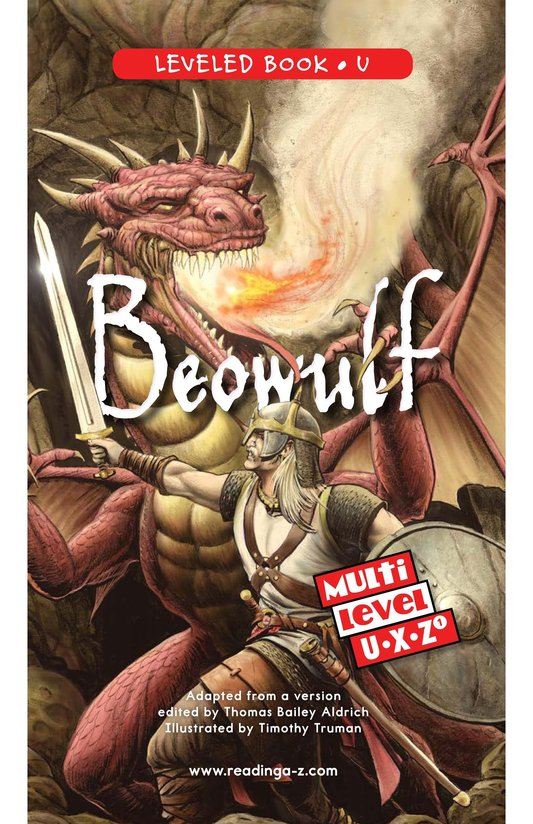 Book Preview For Beowulf Page 0