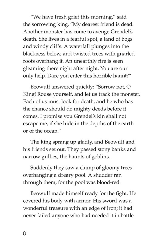 Book Preview For Beowulf Page 8