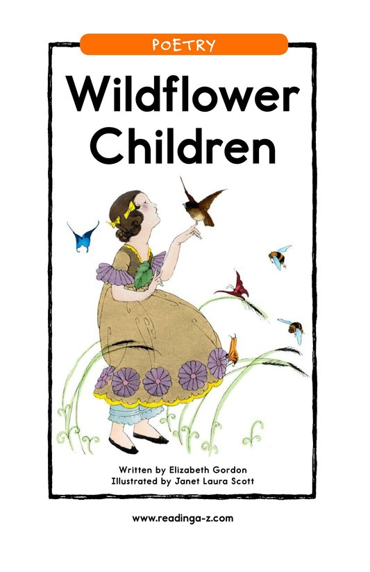 Book Preview For Wildflower Children Page 1