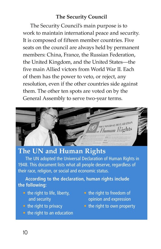 Book Preview For The United Nations Page 10