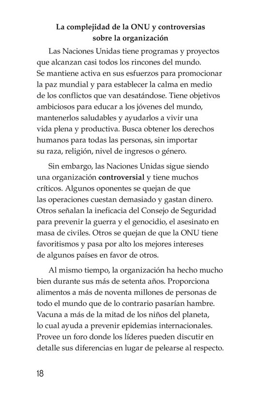 Book Preview For The United Nations Page 18