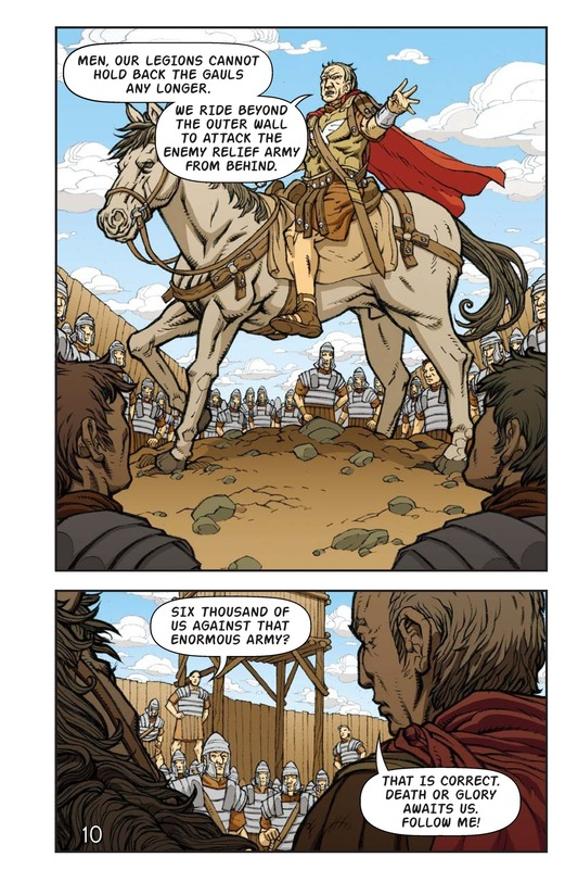 Book Preview For Julius Caesar and the Battle of Alesia Page 11