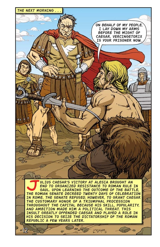 Book Preview For Julius Caesar and the Battle of Alesia Page 13