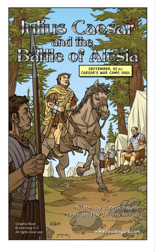Book Preview For Julius Caesar and the Battle of Alesia Page 2