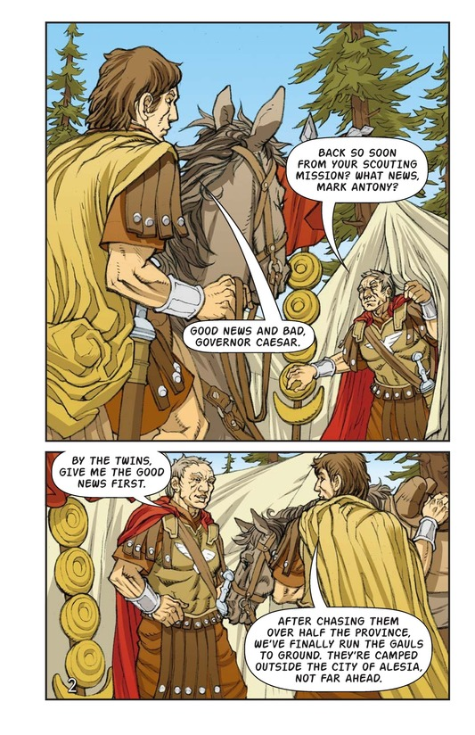 Book Preview For Julius Caesar and the Battle of Alesia Page 3