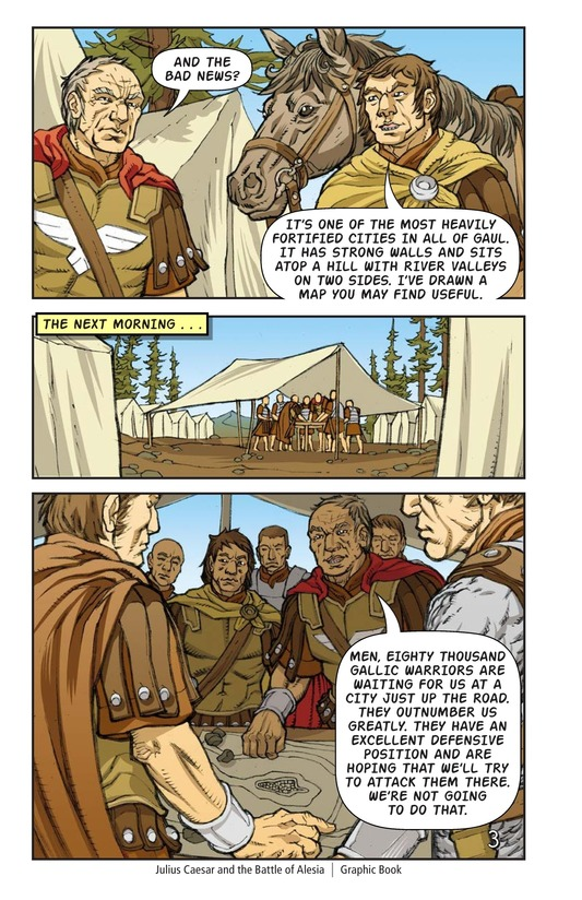 Book Preview For Julius Caesar and the Battle of Alesia Page 4