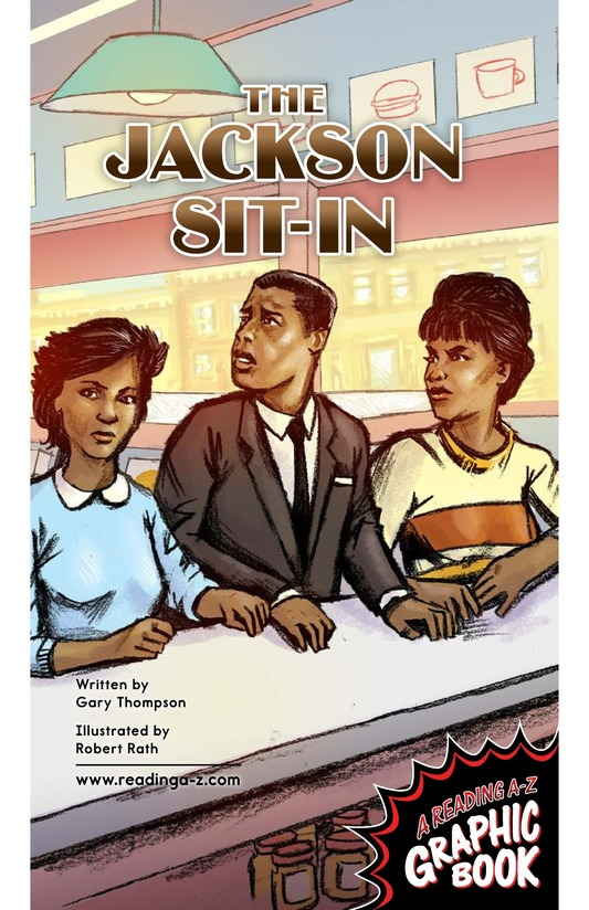 Book Preview For The Jackson Sit-In Page 1