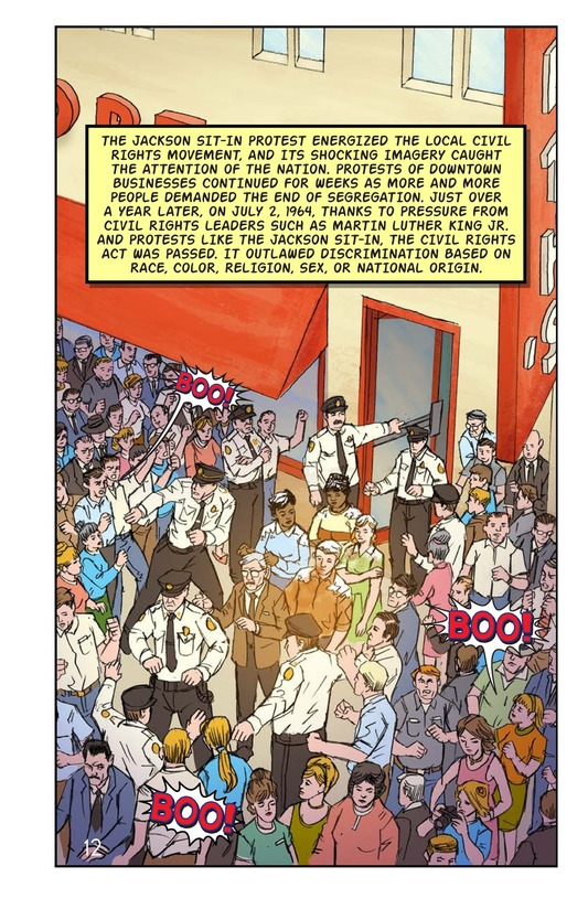 Book Preview For The Jackson Sit-In Page 13