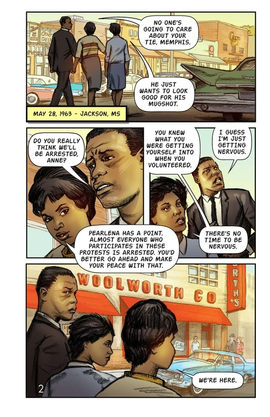 Book Preview For The Jackson Sit-In Page 3