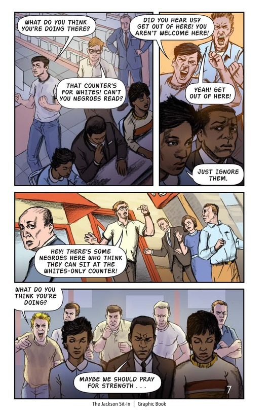 Book Preview For The Jackson Sit-In Page 8