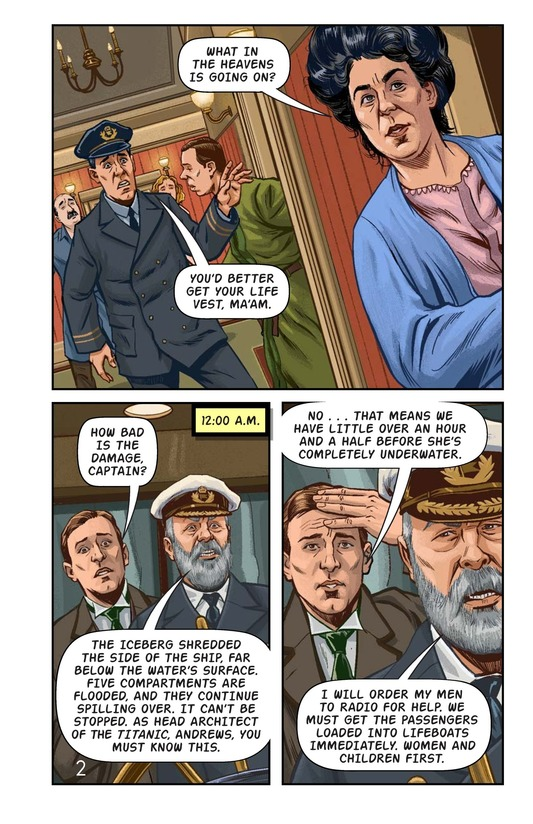 Book Preview For Margaret Brown: Heroine of the Titanic Page 3