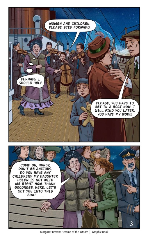 Book Preview For Margaret Brown: Heroine of the Titanic Page 4