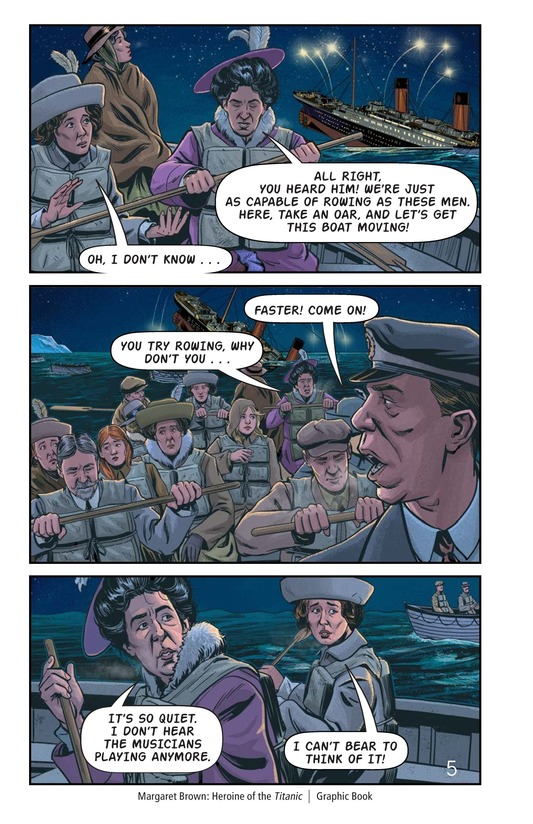Book Preview For Margaret Brown: Heroine of the Titanic Page 6