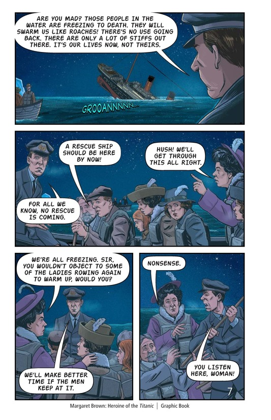 Book Preview For Margaret Brown: Heroine of the Titanic Page 8