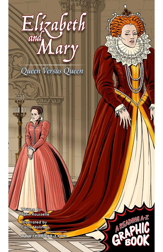 Book Preview For Elizabeth and Mary: Queen Versus Queen Page 1