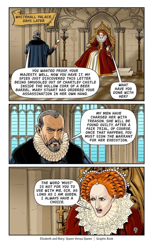 Book Preview For Elizabeth and Mary: Queen Versus Queen Page 10