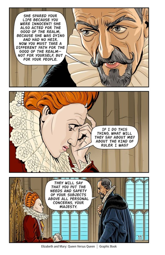 Book Preview For Elizabeth and Mary: Queen Versus Queen Page 12