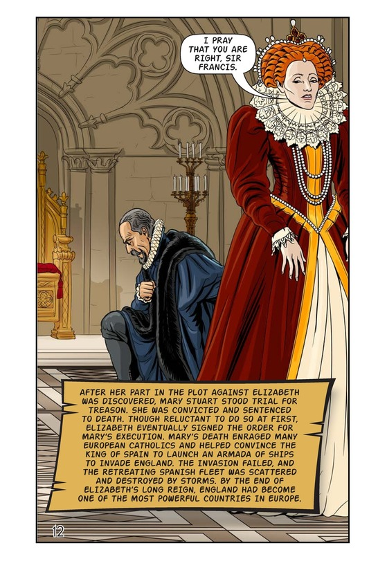 Book Preview For Elizabeth and Mary: Queen Versus Queen Page 13
