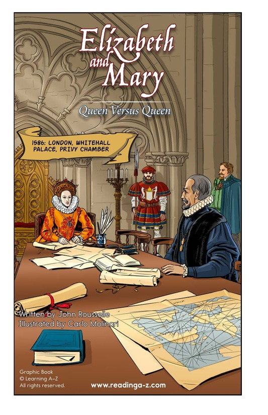 Book Preview For Elizabeth and Mary: Queen Versus Queen Page 2