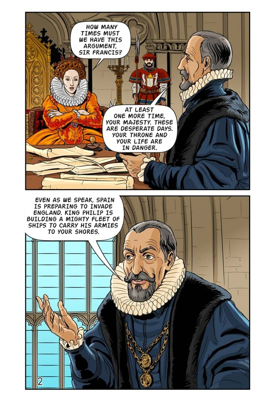 Book Preview For Elizabeth and Mary: Queen Versus Queen Page 3