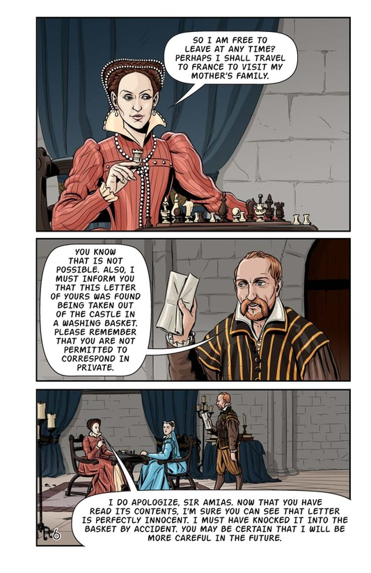 Book Preview For Elizabeth and Mary: Queen Versus Queen Page 7