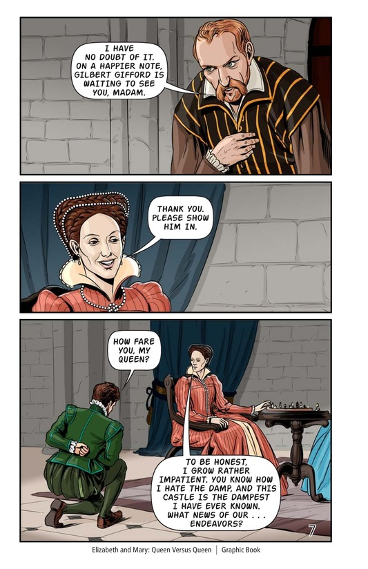 Book Preview For Elizabeth and Mary: Queen Versus Queen Page 8